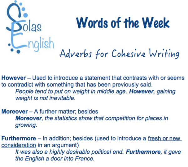 5cd777c14beb If you would like to practice using these adverbs, comment below and I will  give feedback and corrections on your practice.