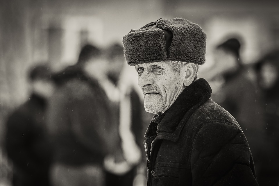 old man age hat