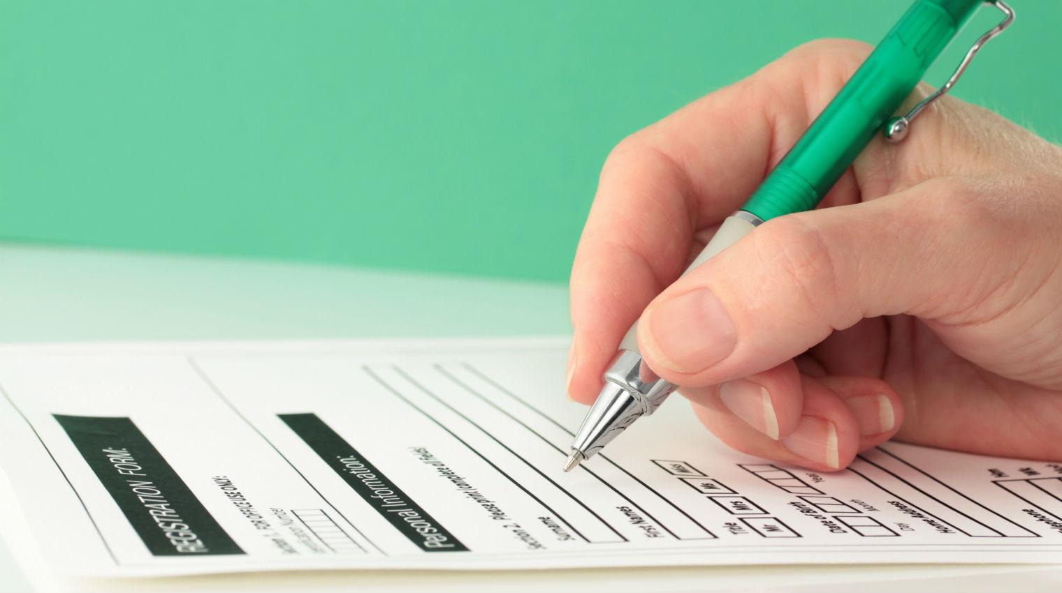 form document birthdate