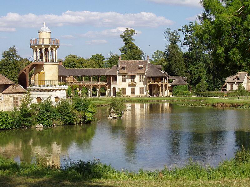 Una aldea dentro del Palacio