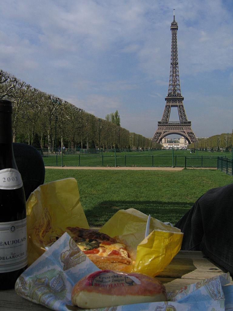 Crea tu propio picnic parisino