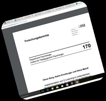PDF zum elearning in Unternehmen, Implementierung