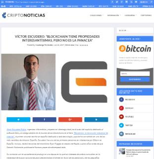 Entrevista para Criptonoticias