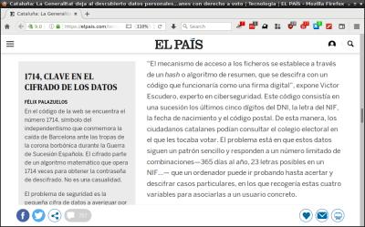 VEscudero hablando en el País sobre IPFS