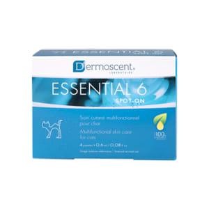 DERMOSCENT ESSENTIAL 6® SPOT-ON FOR KATTER, 4X0,6 ML