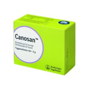 CANOSAN TYGGETAB 2 G HUND, 60 STK