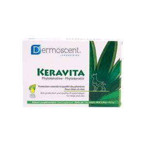 DERMOSCENT KERAVITA® TAB TIL HUND & KATT, 30 STK