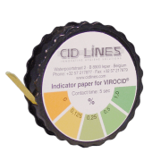 Virocid Test Strips, 1 rull