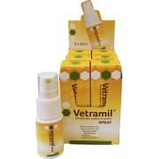 Vetramil sårspray m/ honning til dyr, 6 x 20 ml