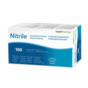 Llp hansker nitril u/pud L, 100 stk