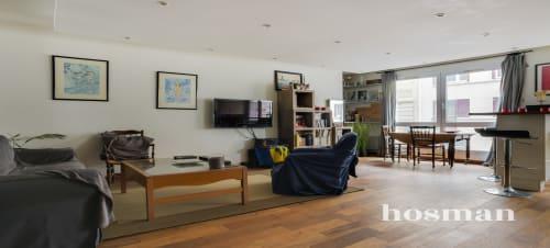 vente appartement de 54.0m² à clichy