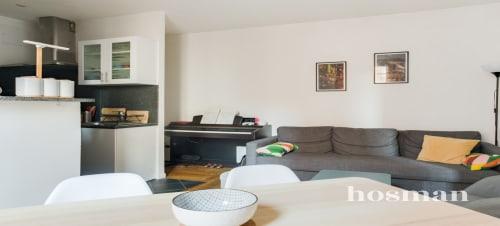 vente appartement de 42.0m² à clichy