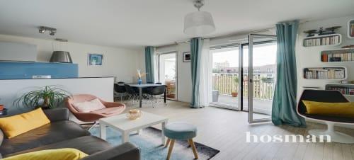 vente appartement de 63.0m² à gentilly