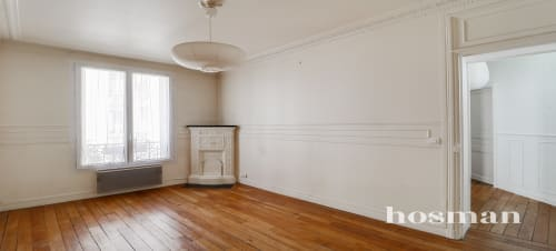 vente appartement de 38.73m² à paris