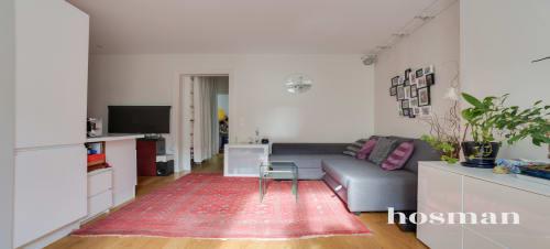 vente appartement de 42.6m² à paris