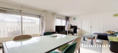vente appartement de 62.0m² à paris