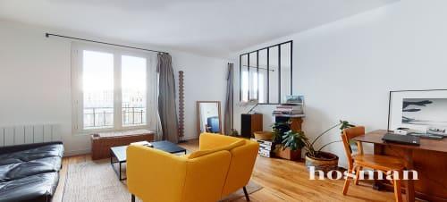 vente appartement de 44.61m² à pantin