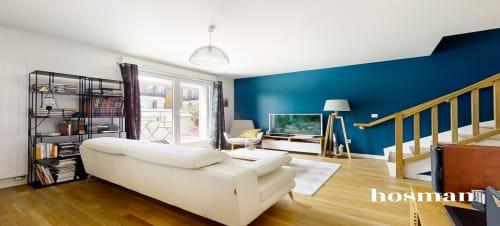 vente duplex de 74.69m² à bois-colombes