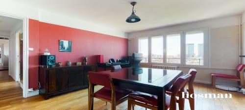 vente appartement de 55.35m² à bagnolet