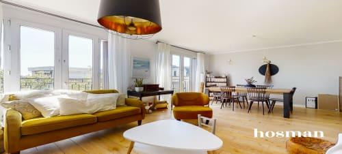 vente appartement de 76.66m² à vincennes