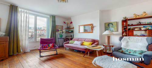 vente appartement de 47.8m² à pantin