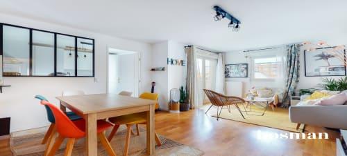 vente appartement de 54.2m² à la garenne-colombes
