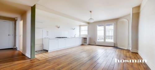 vente appartement de 54.8m² à paris