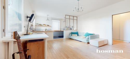 vente appartement de 38.1m² à saint-ouen