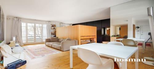 vente appartement de 43.6m² à paris