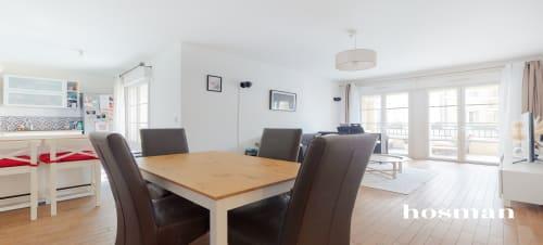 vente appartement de 65.72m² à le plessis-robinson