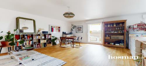 vente appartement de 75.87m² à montreuil