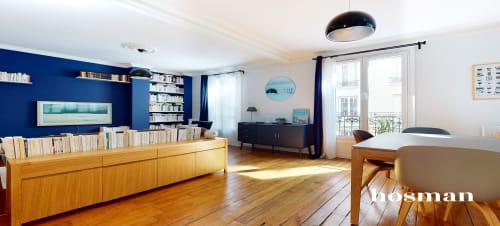 vente appartement de 68.0m² à paris