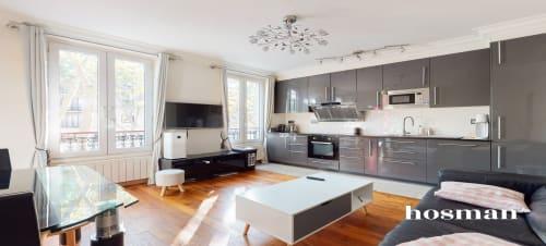 vente appartement de 47.95m² à paris