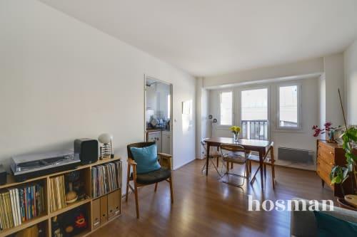 vente appartement de 43.0m² à paris