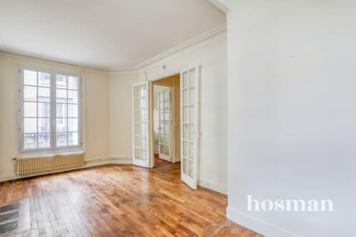vente appartement de 48.45m² à paris