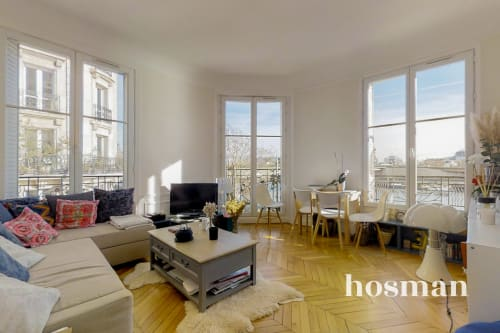 vente appartement de 46.76m² à paris