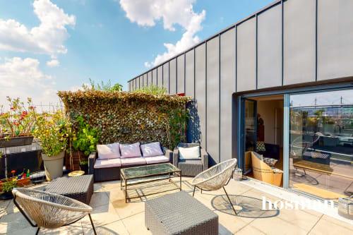 vente appartement de 105.57m² à saint-denis