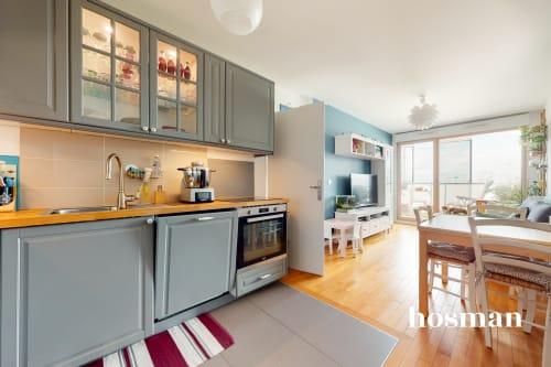 vente appartement de 56.7m² à colombes