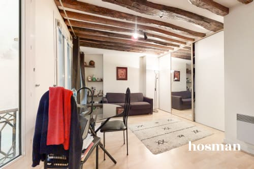 vente appartement de 26.42m² à paris