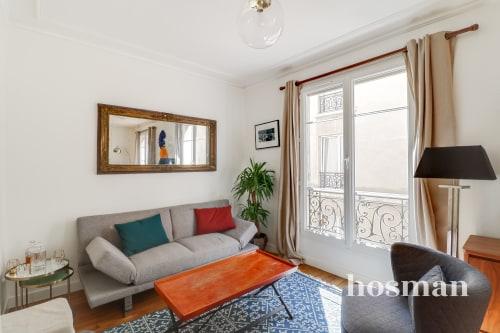 vente appartement de 42.42m² à paris