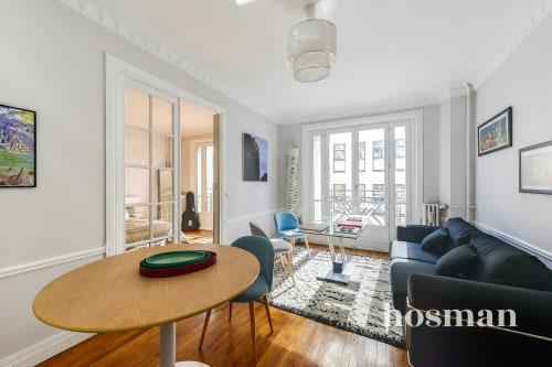 vente appartement de 47.53m² à paris