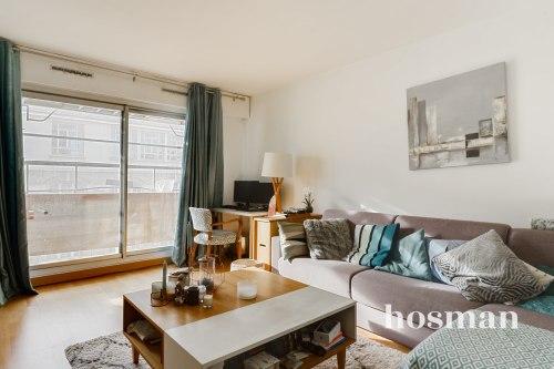 vente appartement de 46.96m² à clamart