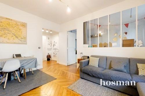 vente appartement de 56.53m² à paris
