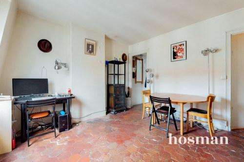 vente appartement de 38.66m² à paris