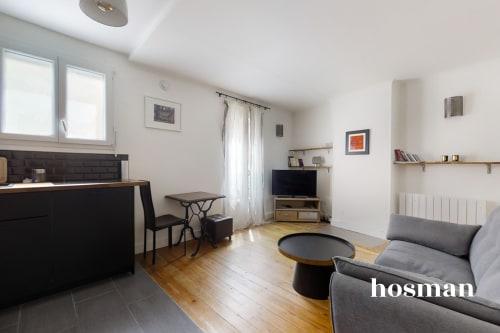 vente appartement de 34.44m² à paris