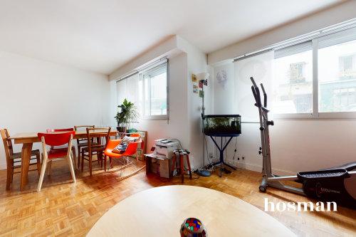 vente appartement de 54.67m² à paris