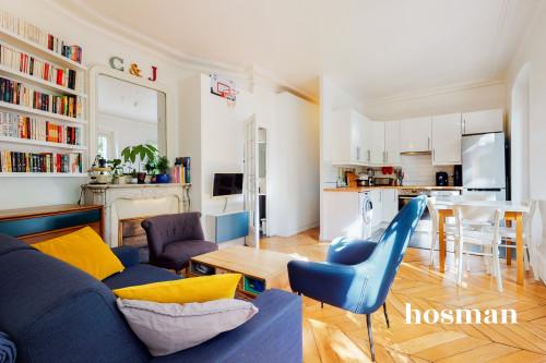 vente appartement de 34.96m² à paris