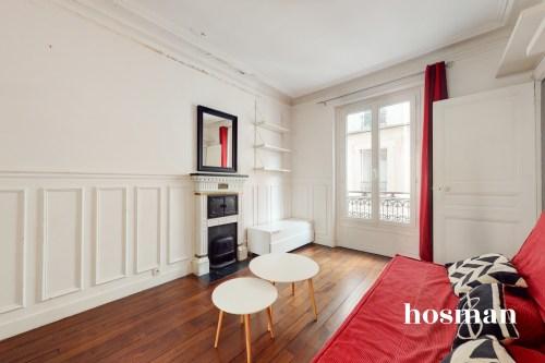 vente appartement de 40.9m² à paris