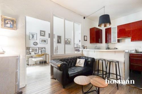 vente appartement de 30.69m² à paris