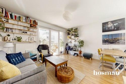 vente appartement de 58.75m² à montreuil